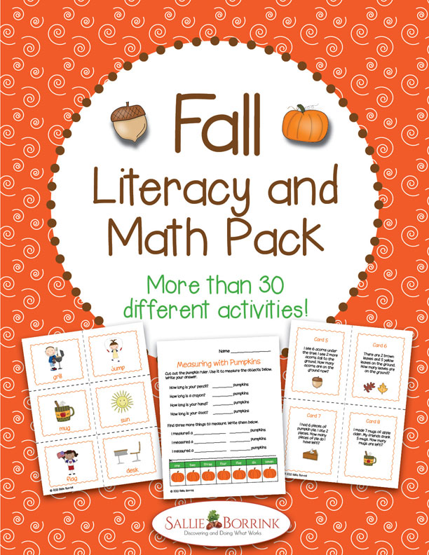 Fall Literacy and Math Pack - 30+ Activities