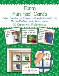 Farm Fun Fact Cards