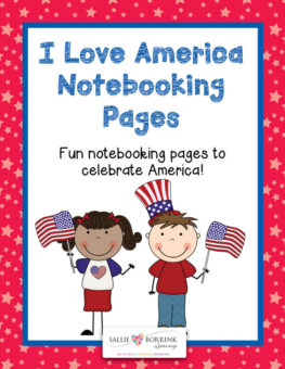 I Love America Notebooking Preview 1