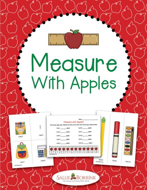 Measure with Apples Math Activity