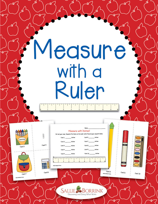 Measure with a Ruler Math Activity