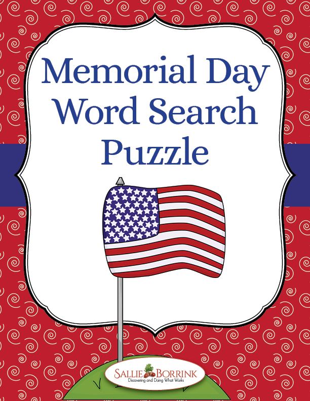 day word search puzzle free use this free memorial day word search ...