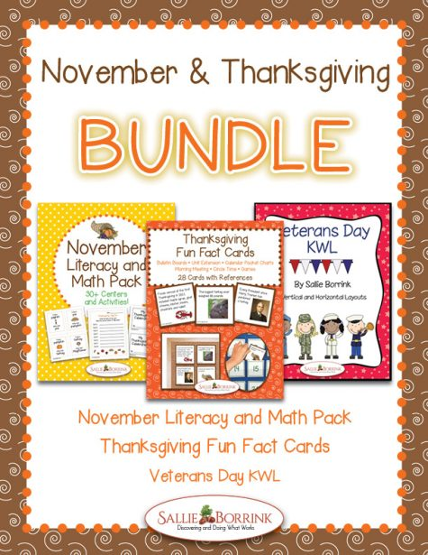 November and Thanksgiving Bundle