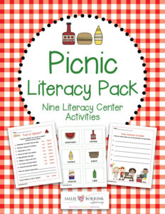 Picnic Literacy Centers Pack