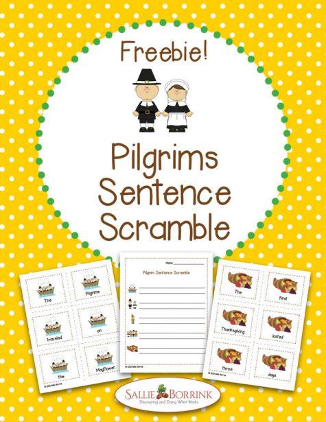 Pilgrims Sentence Scramble 1
