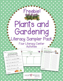 Plants and Gardening Literacy Pack