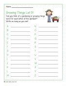 Plants and Gardening Literacy Pack 3