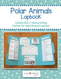 Polar Animals Lapbook