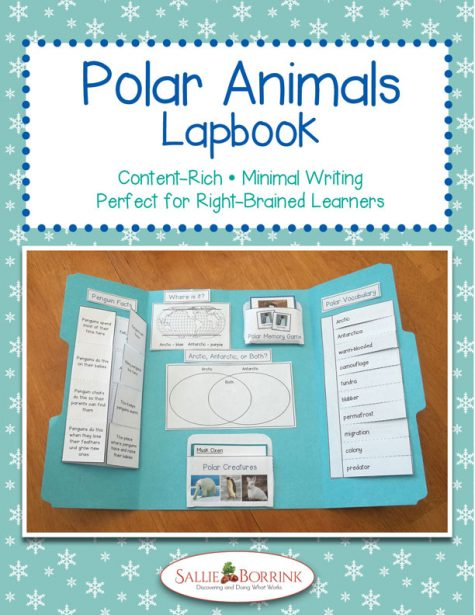 Polar Animals Lapbook