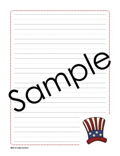 Presidents' Day Notebooking 1