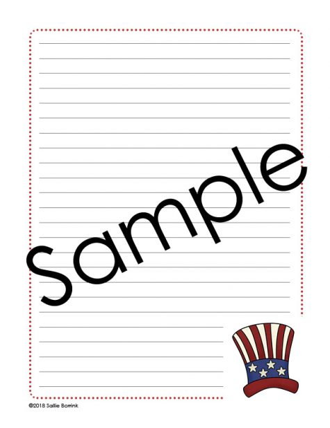Presidents' Day Notebooking 2