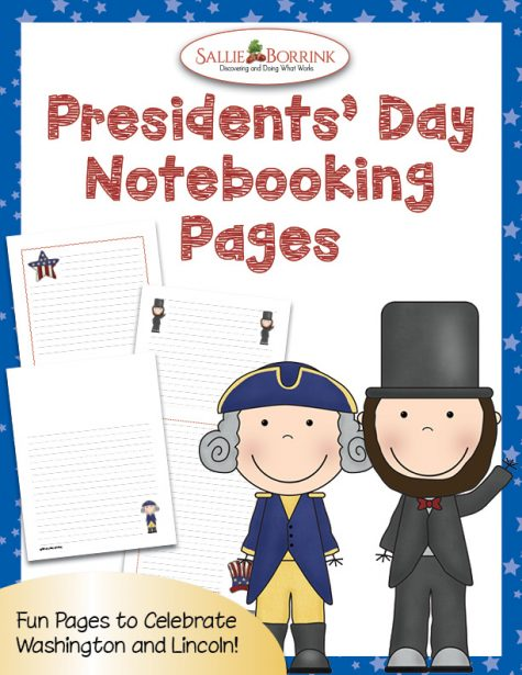 Presidents' Day Notebooking