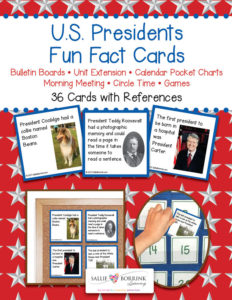U.S. Presidents Fun Fact Cards