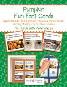Pumpkin Fun Fact Cards