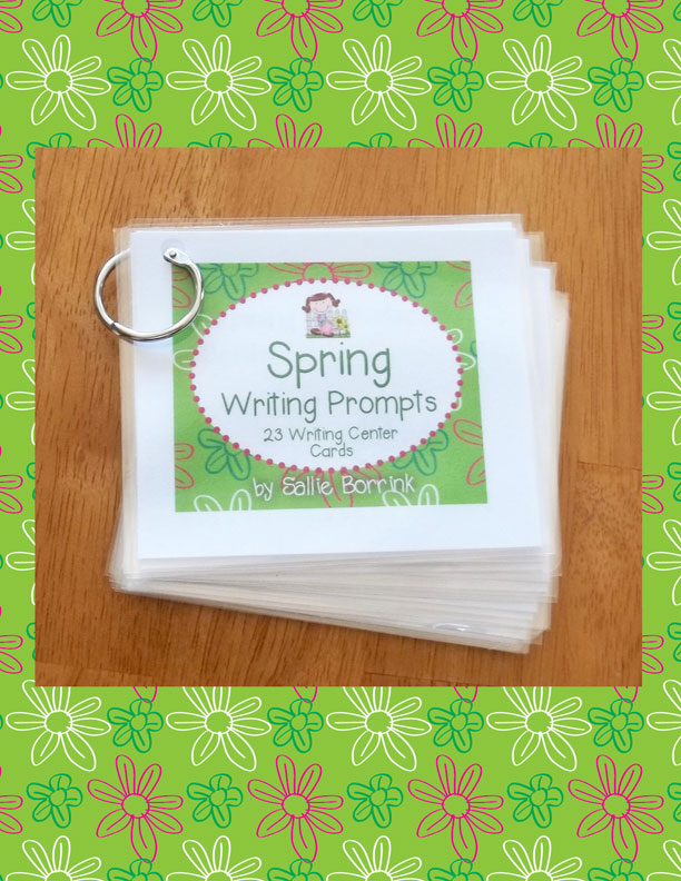 spring writing prompts Spring writing prompts (k-2): 14 prompts for when the weather is warmer makes a great bulletin board or a class book by laurel swingley smith on indulgycom.
