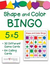 Shape and Color Bingo 5x5