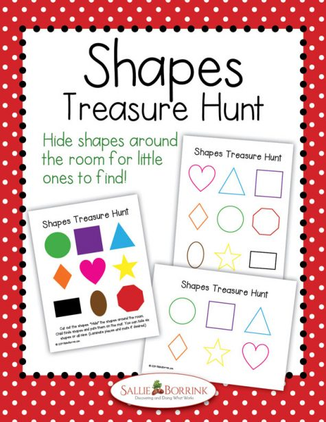 Shapes Treasure Hunt