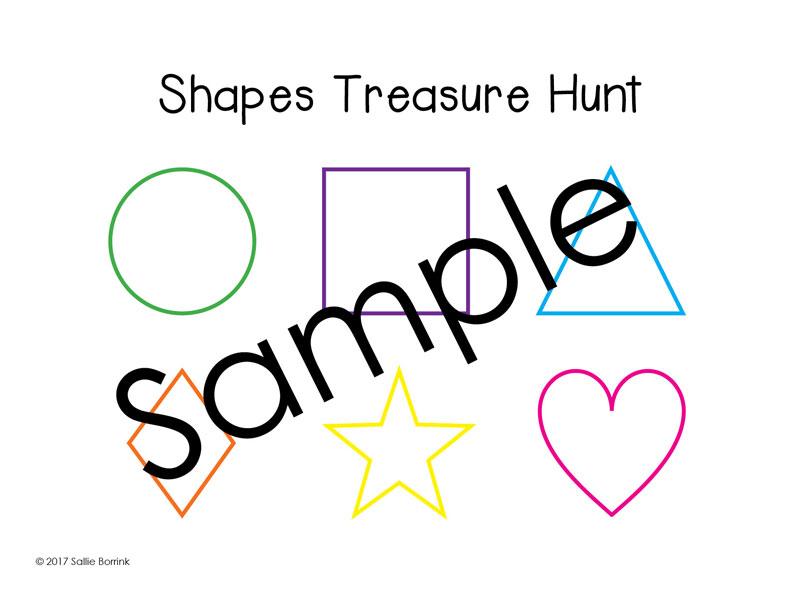 Shapes Treasure Hunt 2