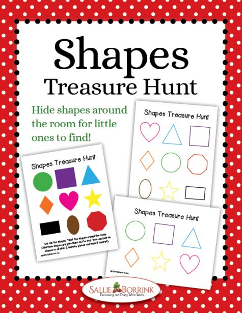 Shapes Treasure Hunt