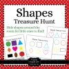 Shapes Treasure Hunt Activity