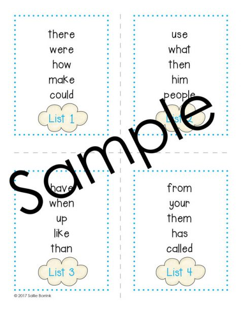 Sight Words ABC Order Literacy Activity 2