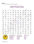 Spring Days Word Search 1