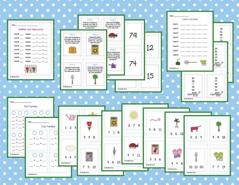 Spring Math Activity Pack 1