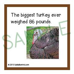 facts thanksgiving kids