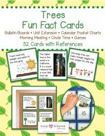 Trees Fun Fact Cards