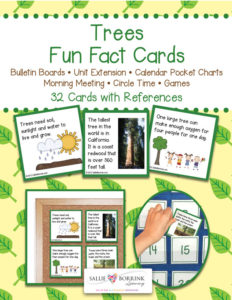 Trees Fun Fact Cards