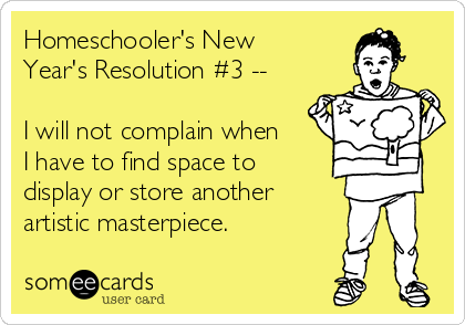 Homeschooler's New Year's Resolution #3 - See the full list at SallieBorrink.com