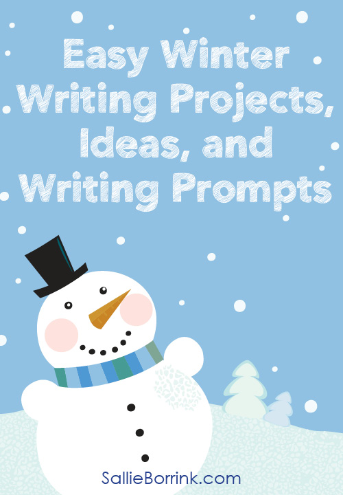 Easy Winter Writing Projects, Ideas and Writing Prompts