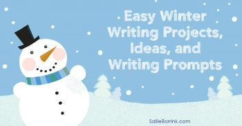Easy Winter Writing Projects Ideas and Writing Prompts 2