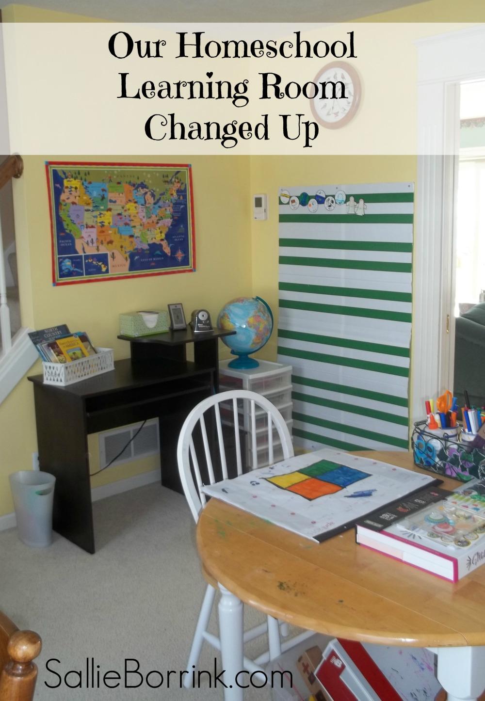 Homeschool Room Changed Up 1