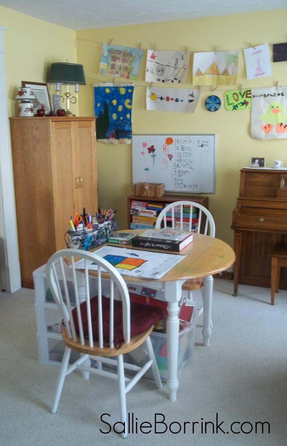Homeschool Room Changed Up 2