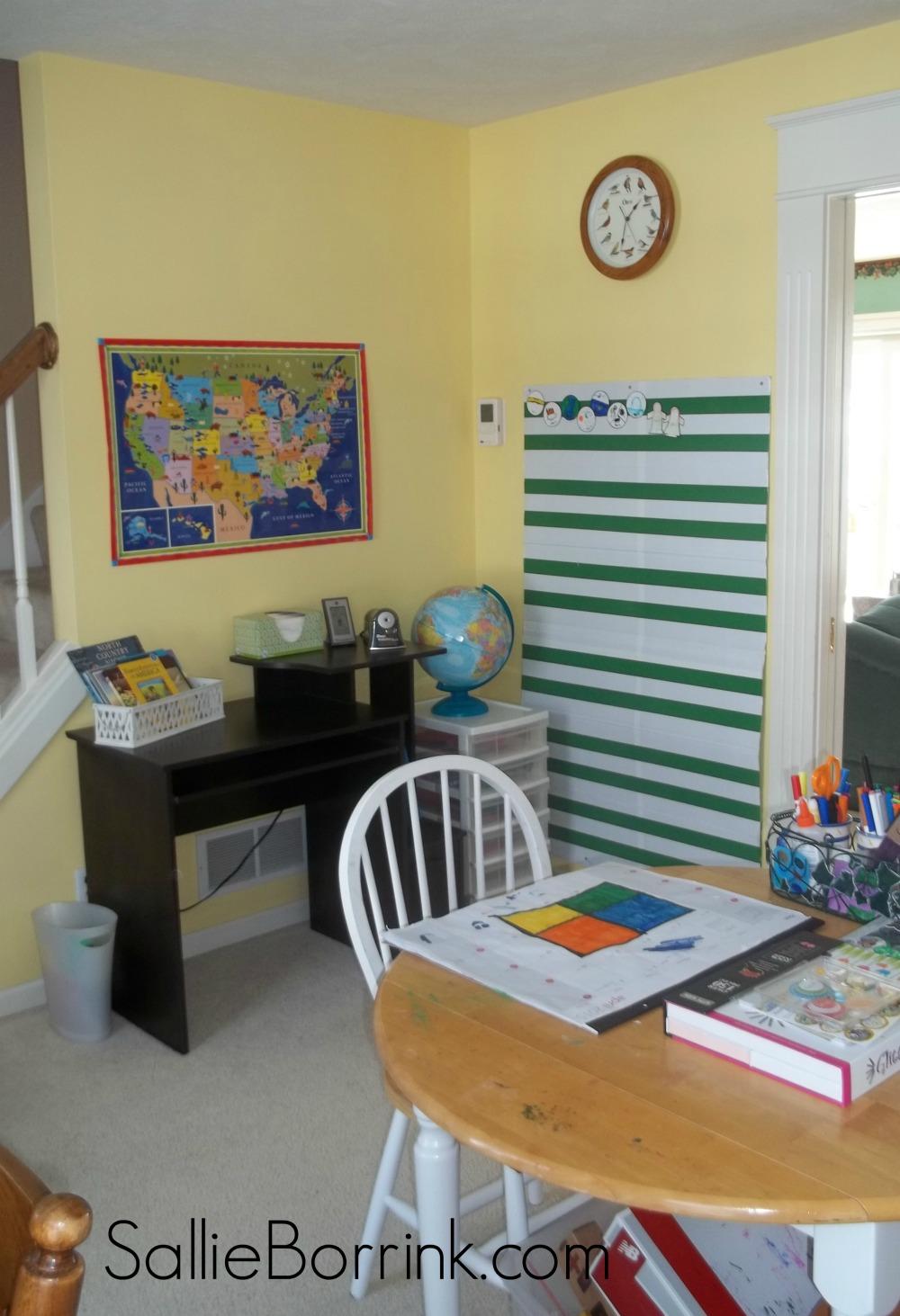Homeschool Room Changed Up 4