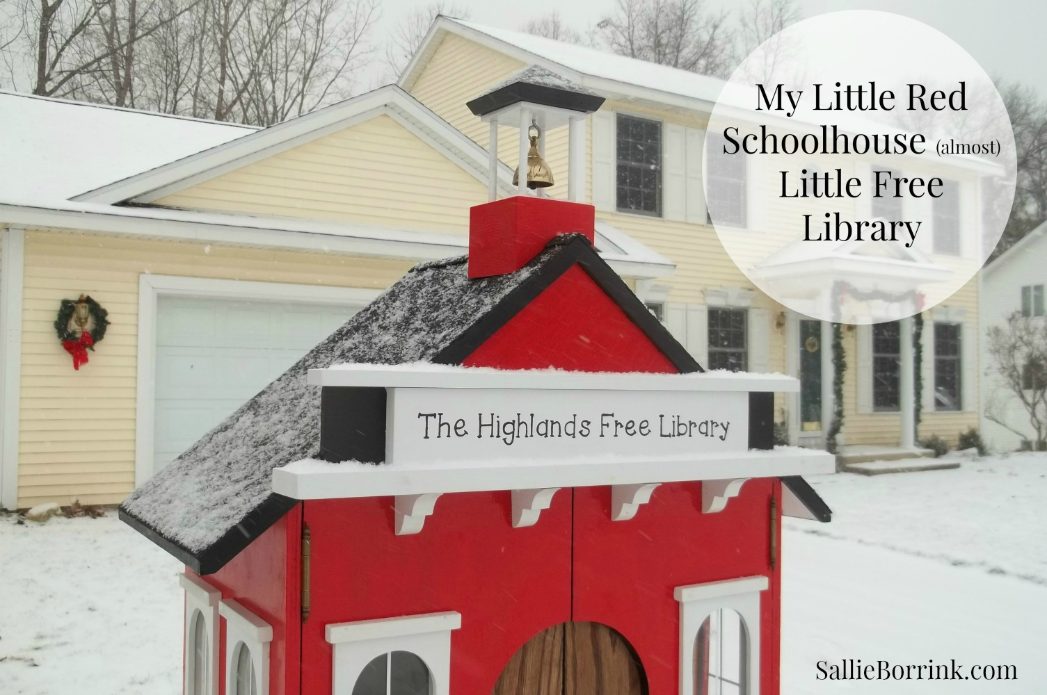 Little Red Schoolhouse Free Library 10