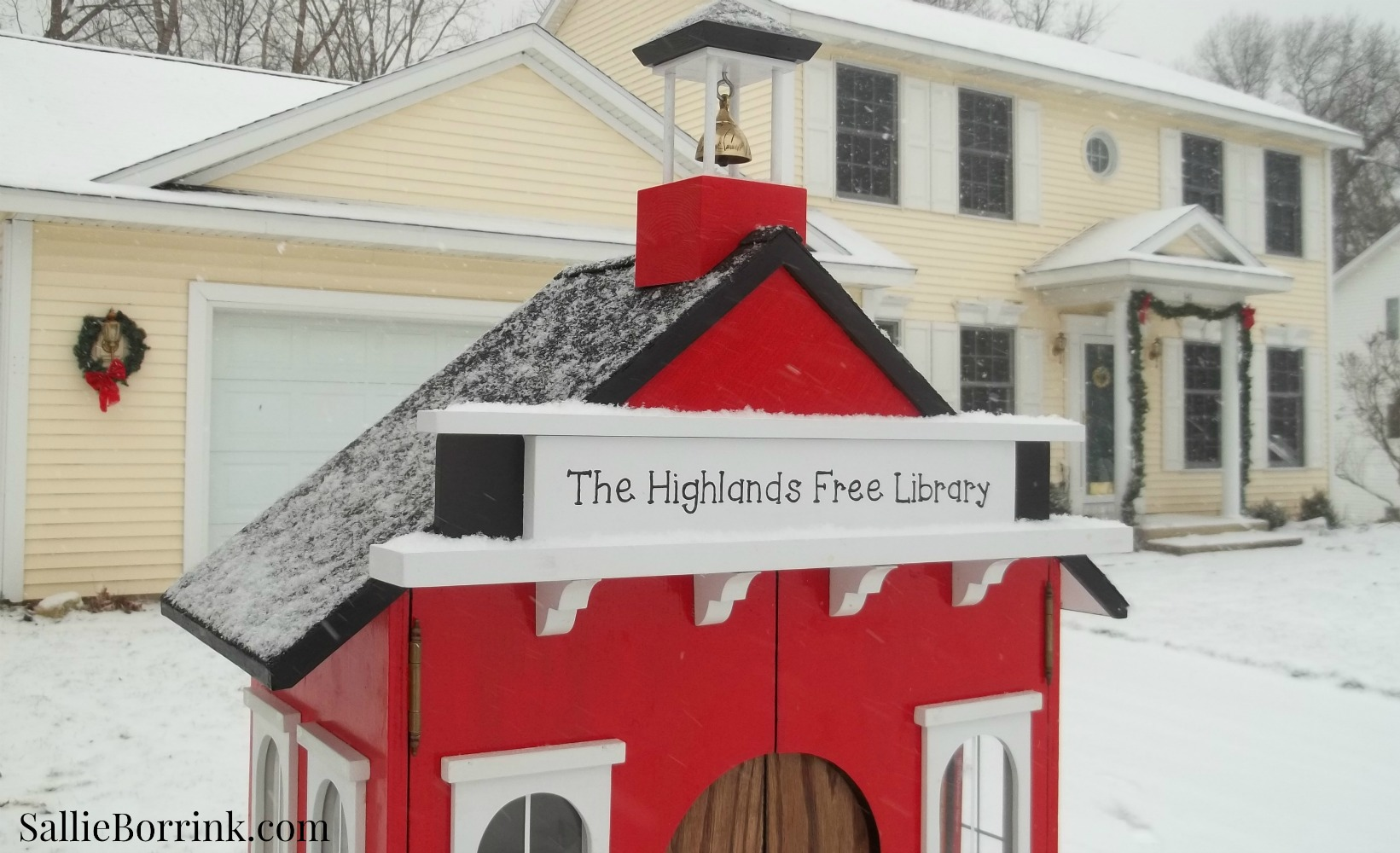Little Red Schoolhouse Free Library 4
