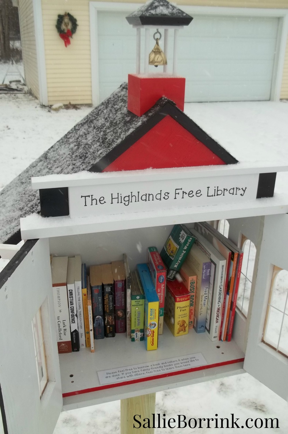 Little Red Schoolhouse Free Library 5