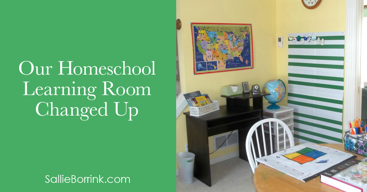 Our Homeschool Learning Room Changed Up 2