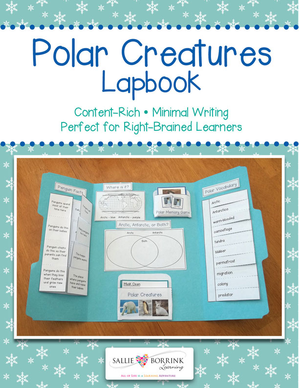 Polar-Creatures-Lapbook-121314