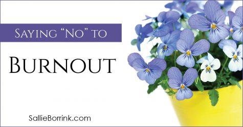 Saying No To Burnout 2