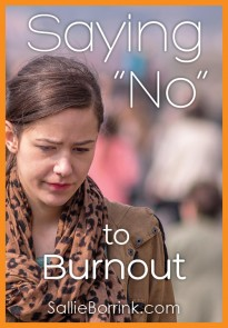 Saying No to Burnout