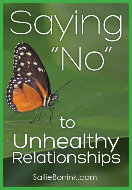 """Saying """"No"""" to Unhealthy Relationships"""
