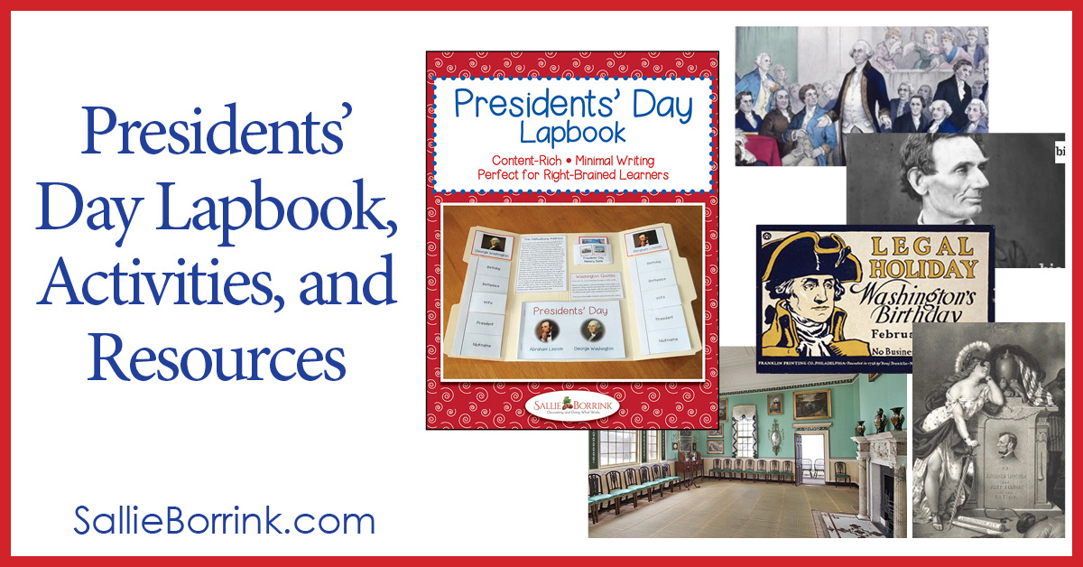 Presidents' Day Lapbook, Activities and Resources 2