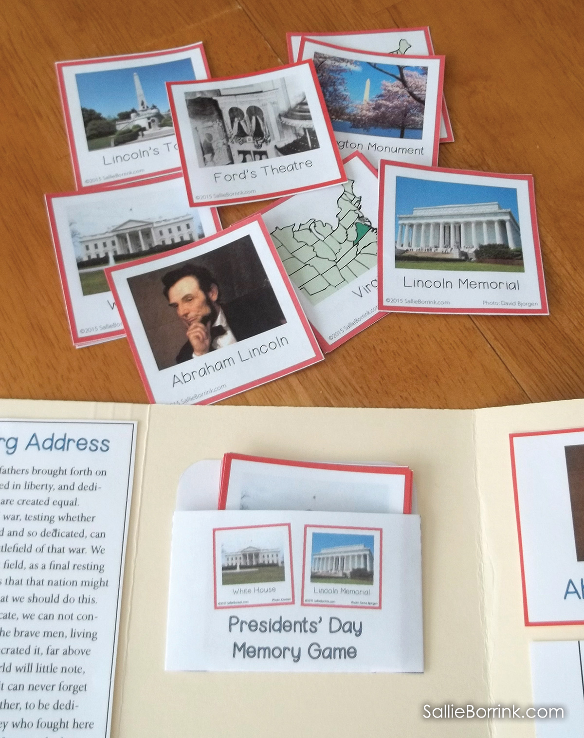 Presidents Day Lapbook 4