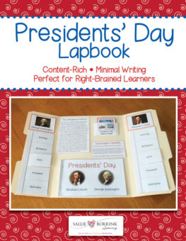 Presidents Day Lapbook PREVIEW 1