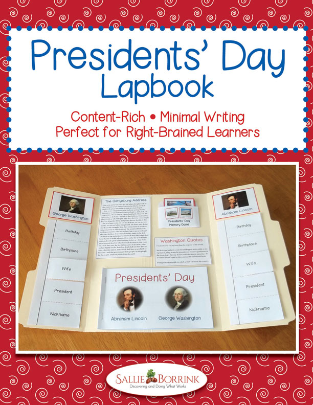 Presidents' Day Lapbook, Interactive Notebook