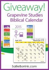 Grapevine Studies Calendar Giveaway!