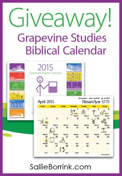 Grapevine Studies Calendar Giveaway!